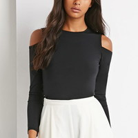 Cutout Shoulder Top