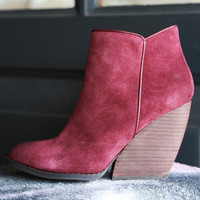 Whitby Suede Ankle Bootie | Very Volatile