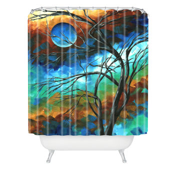 Madart Inc. Mystery Of The Moon Shower Curtain