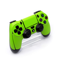 Playstation 4 (PS4) CONTROLLER Green MATT Skin