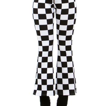 PRE-ORDER: O-Ring Zip Cropped Flares