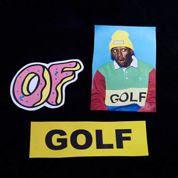 Sticker Pack - Odd Future, Tyler the Creator, OF