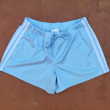 cute pastel blue shorts
