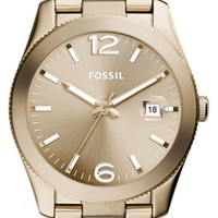 Women's Fossil Perfect Boyfriend Bracelet Watch, 39mm - Light Brown