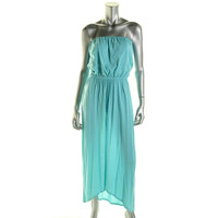 VELVET BY GRAHAM & SPENCER Womens Hi-Low Strapless Casual Dress