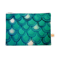 "Theresa Giolzetti ""Mermaid Tail"" Teal Blue Everything Bag"