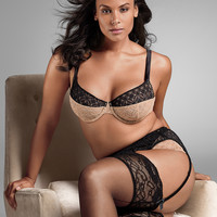 Lace demi bra by Sophie Theallet