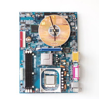Motherboards Wall clock with windows clock face - ready to ship c3762