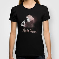 Alice Glass - Crystal Castles T-shirt by TwO Owls | Society6