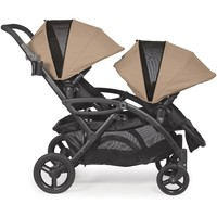 Contours Options Elite Twin Tandem Double Baby Stroller Sand NEW Upgraded