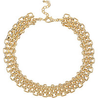 River Island Womens Gold tone chain link necklace