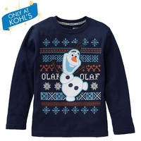 Disney Frozen Olaf Fairisle Gift Box Tee by Jumping Beans - Boys 4-7x
