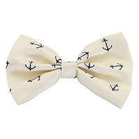 LOVEsick Anchor Hair Bow | Hot Topic