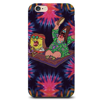 Hippie Spongebob iPhone case
