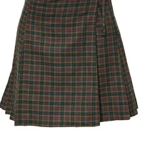 1990's Express Plaid Skirt