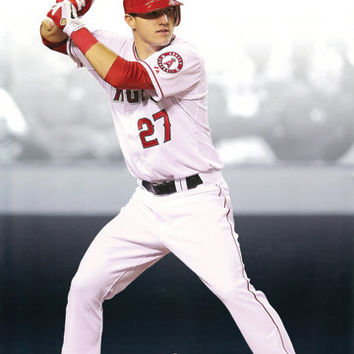Angels Mike Trout Poster