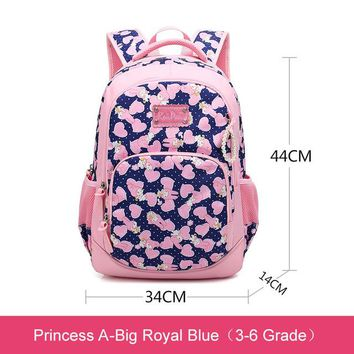School Backpack RUIPAI Girls School Bags Children Backpack Primary Bookbag Princess Backpack Schoolbags Fashion s For Girls AT_48_3