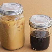 Cuppow - Turn a Canning jar into a Travel mug