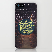 FIGHT FOR YOU iPhone & iPod Case by Pocket Fuel
