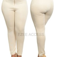 NeW SeXY WoMeNS PLuS SiZe FiTTed STReTCHY LeGGiNGS PaNTS High waist ed 1X,2X,3X