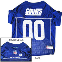 New York Giants NFL Dog Jersey - Small