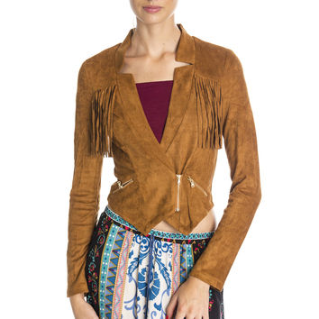 Fringe Necessities Jacket