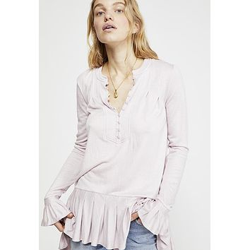 Free People - Your Girl Lavender Tunic