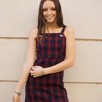 """Cher & Dion"" Plaid Dress"