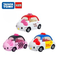 Disney Tomica Car Hello Kitty Diecast  Toys Metal Model Car Birthday Gift For Kids Girl