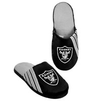 NFL 2012 Football Team Big Logo Stripe Slippers - Hard Sole | deviazon.com