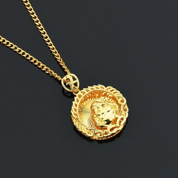 Stylish Gift Jewelry New Arrival Shiny Alloy Necklace [10768843843]