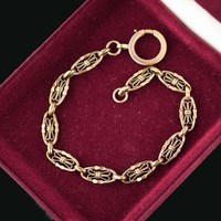 Vintage Pocket Watch Chain Bracelet