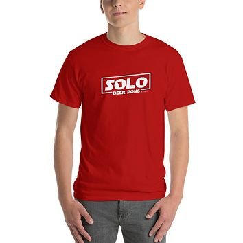 Solo A Beer Pong Story T-Shirt - Hoth White