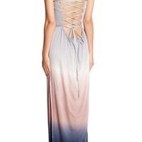 YFB Clothing | Vance Ombre Strapless Maxi Dress | Nordstrom Rack