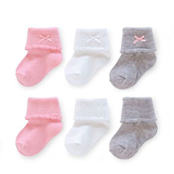 Carter's 6-pk. Ankle Dress Socks - Toddler Girl