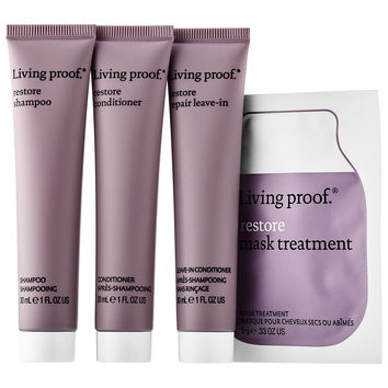 Sephora: Living Proof : Restore Trio : hair-care-sets
