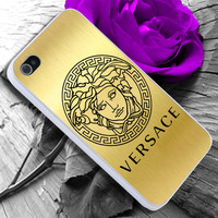 Versace Gold Icon iPhone case cover, iPhone 4/4s/5/5s/5c case, Samsung Galaxy S3/S4 case, iPod 4/5 case