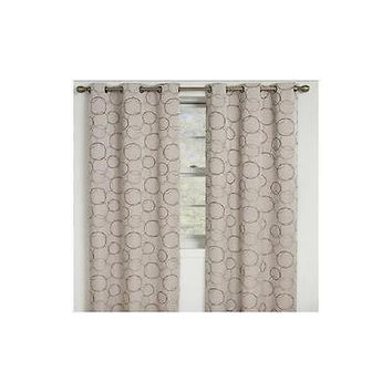 Eclipse Zodiac Energy-Efficient Curtain Panel 42 X 108 Linen