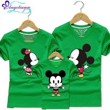 2017 Mickey Mommy And Me Family Tshirt
