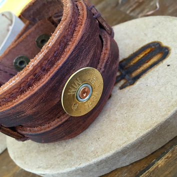 Nashville Leather Cuff