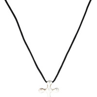 Tiffany & Co. Cross Pendant Necklace