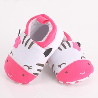 Baby Shoes Infant Toddler Crib Shoes Soft Sole Cat Print Kid Girls Boy Cotton First Walkers Shoes children footwear for newborns