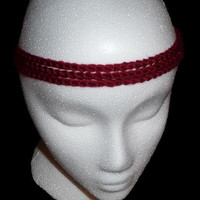Hippie headband - Crochet Headband - Pick your Color