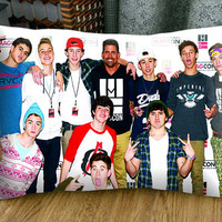 Magcon Boys Funny Photo - 30x 20 inch - Magcon Boys Pillow - Magcon Boys Funny Photo Pillow - Decorative Pillow