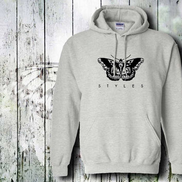 harry styles tattoo one direction  hoodie unisex adult by gildan