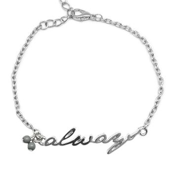 This I Promise You - Silver Bracelet