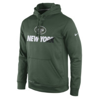 Nike Sideline KO Fleece Pullover (NFL Jets) Men's Training Hoodie