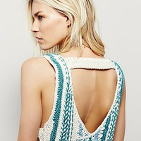 Free People Horizon Line Sweater Tank