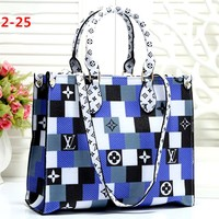 Free shipping-LV new women's shopping bag handbag shoulder bag