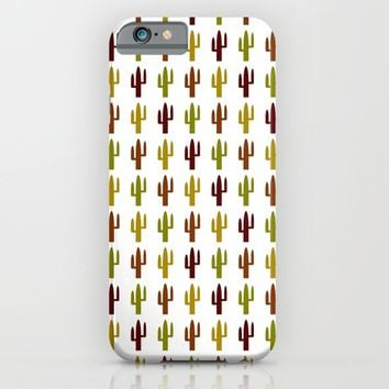 Cactus 2 design, Vector iPhone & iPod Case by Claude Gariepy